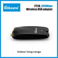 Best Dual antenna 5dbi wifi usb adapter 300Mbps RT3072 chipset Linksure N315 wholesale