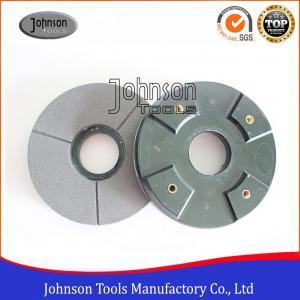 Best 6 8 10 Diamond Grinding Wheels / Resin bond Black Buff for Polishing Granite wholesale