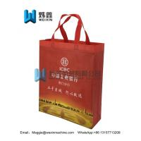 Best Manufacturer custom logo color printing non woven bags with handle/100gsm wholesale