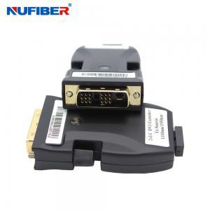 Best DC5V 1A DVI To Fiber Extender SM 2xLC 1000meters Support 4Kx2K 1080P 60Hz wholesale