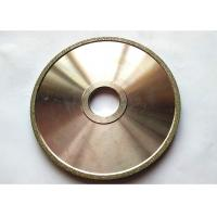 Best Flat Industrial Electroplated Small Diamond Grinding Wheels 150mm Edge Abrasive wholesale
