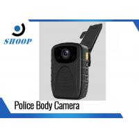 3000mAh 1296P / 1080P Police Wearing Body Cameras , IR Small Night Vision Body Camera