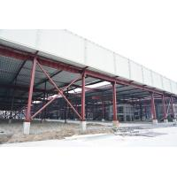 China Red Paint Metal Garage Buildings For Cargo Storage & Logistic Transportaiton on sale