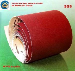 China Aluminium Oxide Abrasive Paper Roll on sale