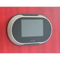 China 3.5inch digital peephole viewer with door bell on sale