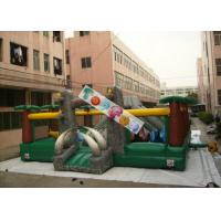 Cheap Amazing Aiant Kids Inflatable Amusement Park / Inflatable Adventure For Rent for sale