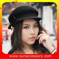 Best 9140784 Sun Accessory customized  winner  fashion 100% wool felt Ivy hats, women hats and caps wholesaling wholesale