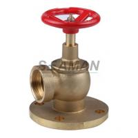 Best Fire Hydrant Valve with Flange PN 16 Male 1.5 Right Angle with Female Thread - Brass wholesale