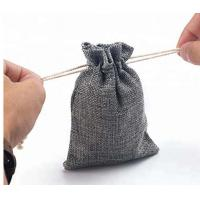 Best Jute Recycled Drawstring Bags Mini Size For Jewelry / Party Gift