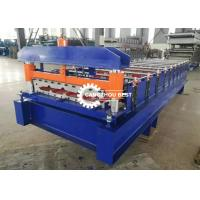 China Steel Trapezodial Profile Roll Forming Machine Corrugated Roof Sheet Making on sale