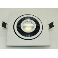 Best IP45 COB Led Ceiling Downlights 90-95lm / W High Power Led Downlight wholesale