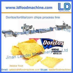 Best Doritos/tortilla snacks making machine, corn chips processing line wholesale