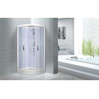 Double sliding door shower enclosure , 900 x 900 x 2150mm Glass Shower Cabin