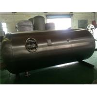 China Industrial Stainless Steel Air Compressor Receiver Tanks Double Sided Welding on sale