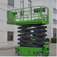 Best Electrical Self Propelled Scissor Lift 12m Elevated Work Platform For Warehouse wholesale