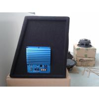 China Carpet Finished 10 Inch Subwoofer Box , Portable Car Stereo Boombox With Amplifier on sale