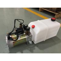 High Performance  Dump Trailer Micro Hydraulic Power Packs With 8L Plastic Oil Tank