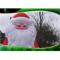China Halloween / Christmas Inflatable Yard Decorations Outdoor Santa Claus  on sale