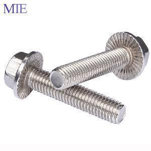 Best Stainless Steel 304 316 Hex Flange Head Screw wholesale