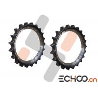 China EC345 Metric Roller Chain Sprockets / Stainless Steel Track Rollers High Strength on sale
