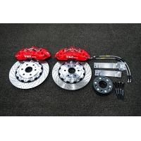 China TEI Racing BBK P60NS 6 Piston Forged two - pieces Caliper Brake Kit For Cadillac XT5 19 Inch Wheel Front on sale