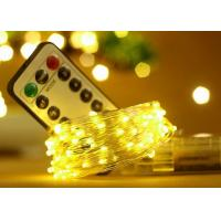 Best 5M 50 LED Battery Operated String Lights With Remote Control Wedding Decorations wholesale