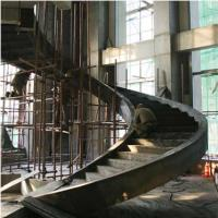 Buy cheap Large Pre Engineering Steel Spiral Staircase Solid I Beam Shock Resistance product