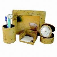 Best Stationery Gift Set, Made of PU Leather wholesale