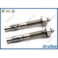 Best 316 Stainless Steel Stud Wedge Anchors for Concrete wholesale