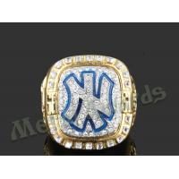 Best High End Zinc Alloy Ring New York Yankees Rings For Men UV Resistant wholesale