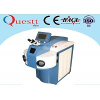 Best Water Chiller YAG Laser Gold Laser Welding Machine 200 / 300 / 400W With 10X Microscope wholesale
