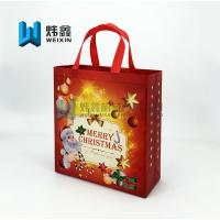 Best Fashion Eco-friendly Christmas festival Market pp Non Woven shopping bag wholesale wholesale