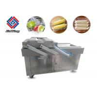 China Pneumatic Vacuum Frozen Food Packaging Machine Double Chamber High Efficiency on sale