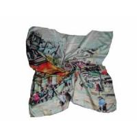 Best Branded Square Silk Scarf (LC009) wholesale