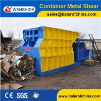 Best China WANSHIDA Automatic Scrap Shear/Container Shear for propane tanks wholesale