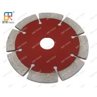 "China 4- 9""Inch Segmented diamond saw blade fits for dry cutting for granite,marble,asphalt,concrete on sale"