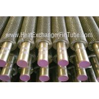 Buy cheap A213 TP321H Welded Fin Tubes support Solid / Plain / Serrated / Radial Type product