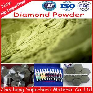 China Synthetic Diamond Micron Powder for Diamond Wire Dies on sale