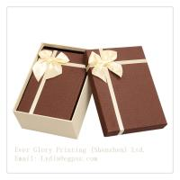 Best Factory fineness packing box jewelry box customize design exquisite box with ribbon wholesale