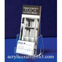 Best A4 acrylic stand acrylic catalogue stand holder wholesale