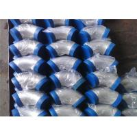 China Seamless 304 Stainless Steel Compression Fittings Elbow For Pipeline Project on sale