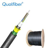 Best G652D 24 Core Single Mode Fiber Optic Cable , GYFTA53 Direct Burial Fiber Cable wholesale