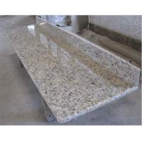 Best Santa cecilia dark light yellow Gold Kitchen worktops granite stone countertop wholesale