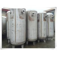 China 800 Gallon Carbon Steel Replacement Air Compressor Tank High Pressure Filter Separator on sale