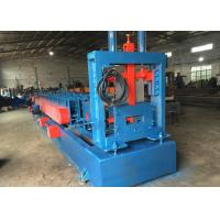 China Automatically Z U Channel Purlin Roll Forming Machine Chain or gear box Driven system on sale