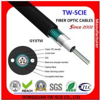 Best Telcom Outdoor Fiber Optic Cable High Strength Loose Tube Structure Hydrolysis Resistant wholesale