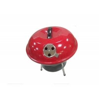 Best Factory Price Outdoor 14 inch Apple round Enamel Stew outdoor Bbq Cooking Grill wholesale