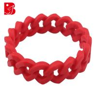 China Custom Power Balance Bracelet, High Tactile Unique Silicone Bangle With Embossed Logo on sale