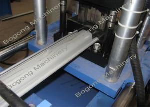 China Painting Steel Shutter Door Making Machine , Rolling Shutter Strip Making Machine on sale
