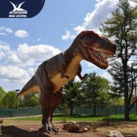 Best Zoo Equipment Handmade High quality Animatronic Dino Realistic Dinosaur Models wholesale